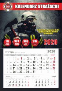 Kalendarz strażacki wyrywka