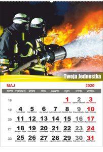 Kalendarz strażacki spiralowany