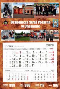 Kalendarz strażacki Chełmno