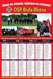 Kalendarz strażacki Biała