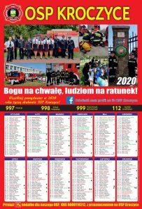 Kalendarze strażackie Kroczyce