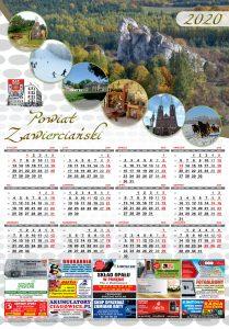 Kalendarz promocyjny Starostwo Zawiercie