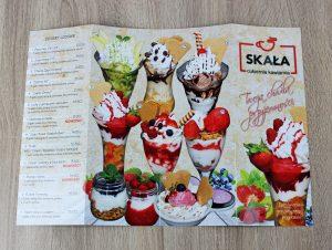 Karta menu Skała1