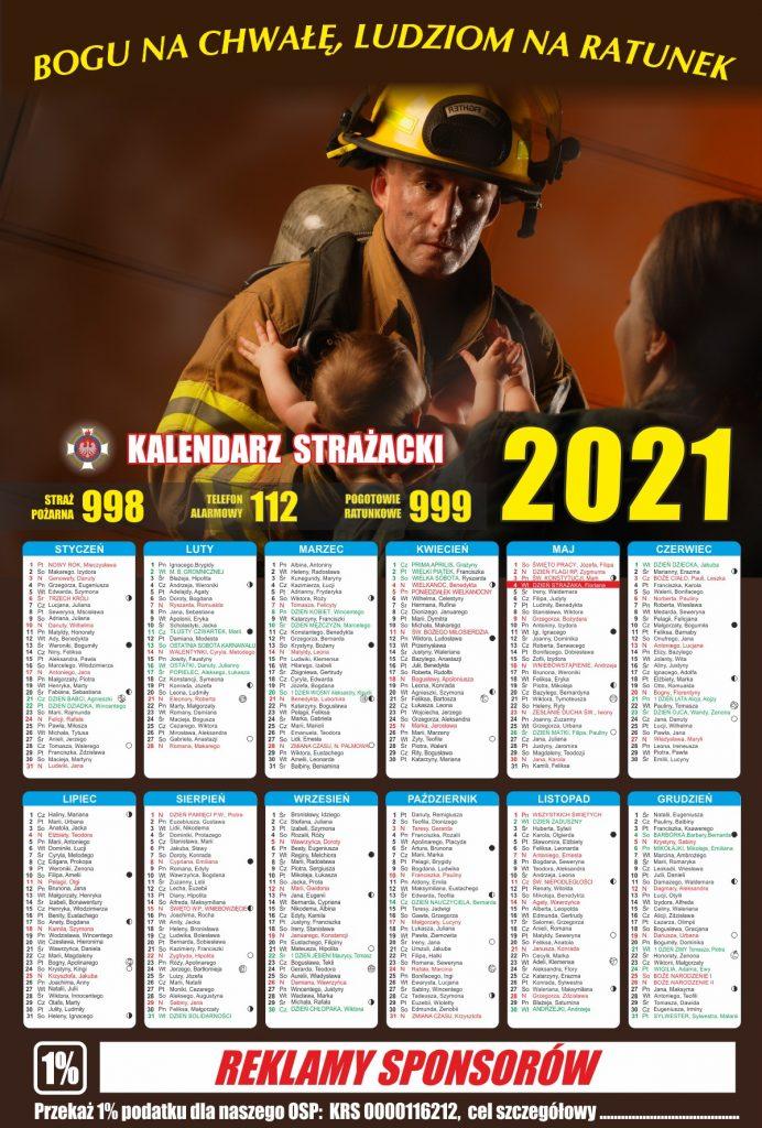 Kalendarz strażacki
